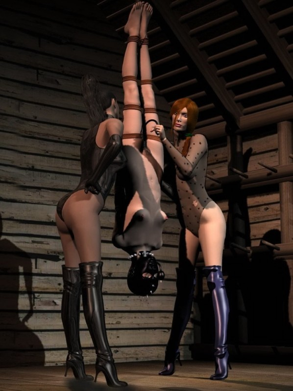 Absolutely naked crucifixition bdsm
