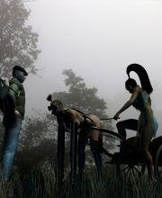 black fox bondage gallery