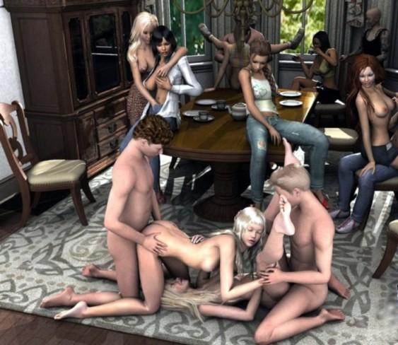 voluptuous nude black women