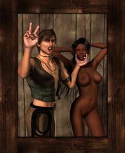 bdsm lesbian comic