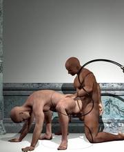 ponytail bondage