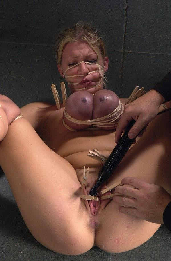 Male strippers in bondage