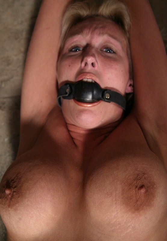 Chained bdsm girl