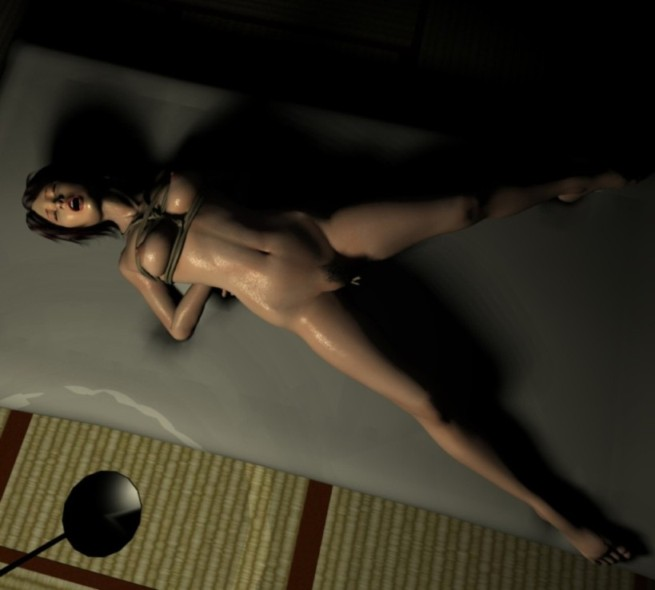 Teenage nude concept art